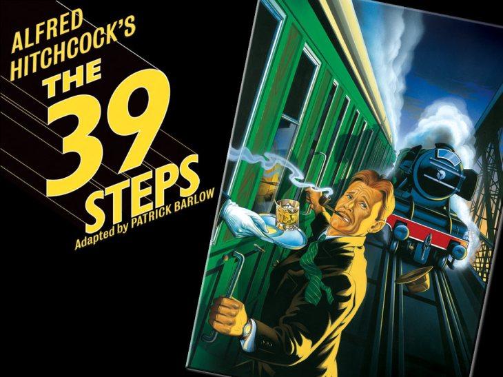 39 Steps - Poster